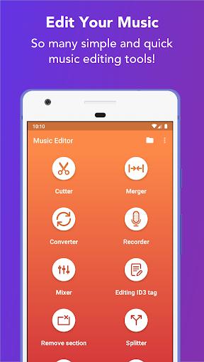 Music Editor - MP3 Cutter and Ringtone Maker 5.5.2 Screenshots 17