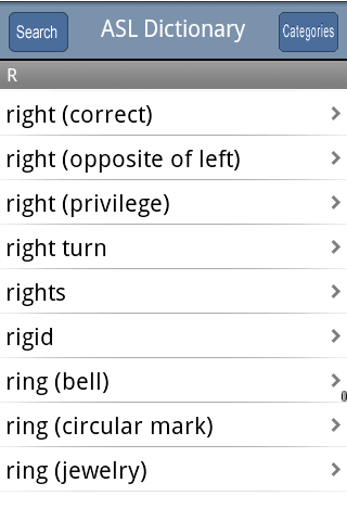 ASL Dictionary For PC Windows (7, 8, 10, 10X) & Mac Computer Image Number- 6