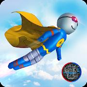 Flying Hero Stickman : Stickman Rope Hero Games