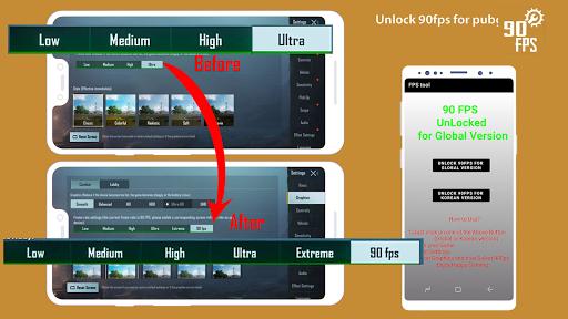 Fps tool : unlock 90fps  screenshots 1