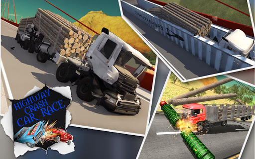 Highway Crash Car Race 1.5 Screenshots 2