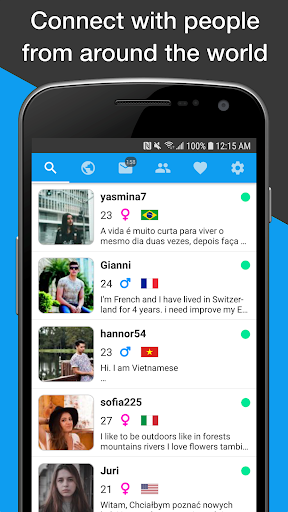 Unbordered - Foreign Friend Chat 6.0.7 Screenshots 17