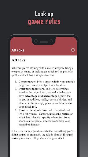 D&D 5e SRD Rulebook hack tool
