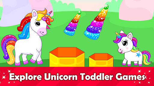 Unicorn Games for Kids & Toddler 2, 3, 4 Year Olds  screenshots 1