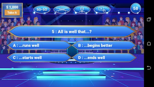 Millionaire 2020 - Free Trivia Quiz Game 1.0.2 Screenshots 3