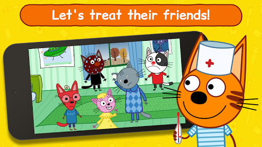 Kid-E-Cats Animal Doctor Games for Kidsu30fbPet Doctor 1.8.5 screenshots 1