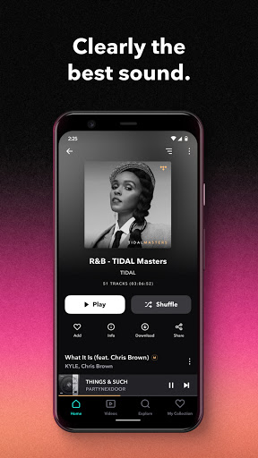 TIDAL Music - Hifi Songs, Playlists, & Videos 2.37.0 Screenshots 1