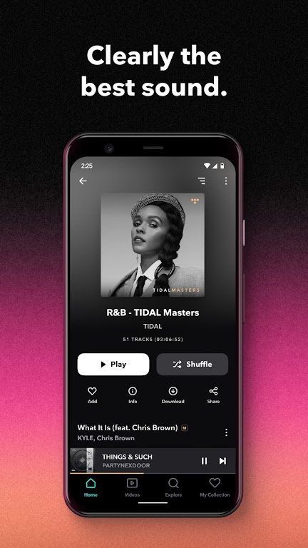 TIDAL Music - Hifi Songs, Playlists, & Videos  poster 0