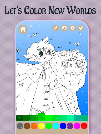 Imagination Coloring book apkpoly screenshots 5