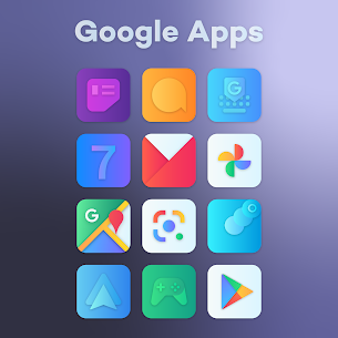 Gradient Icon Pack (MOD, Paid) v1.9 2
