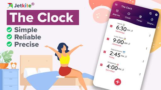 The Clock: Alarm Clock & Timer  screenshots 1