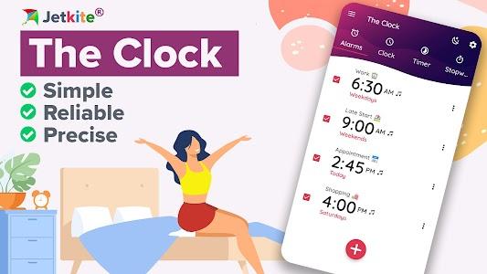 The Clock: Alarm Clock & Timer 7.4.2 (Unlocked)