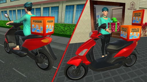 My Home Bakery Food Delivery Games