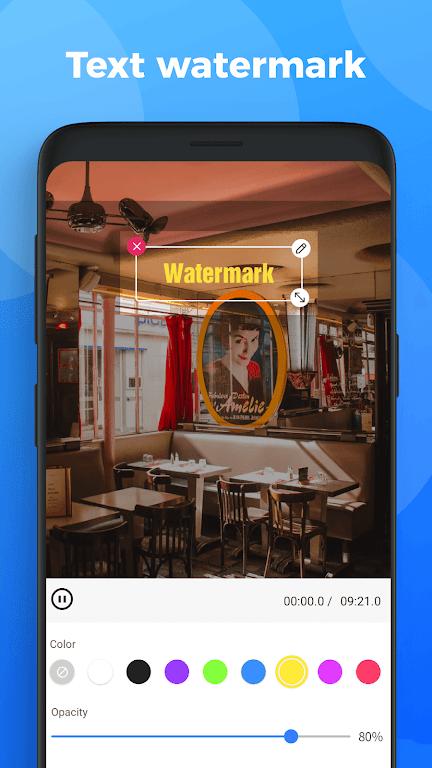 Video Watermark - remove Watermark & add logo poster 1