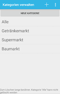 EasyList - Shopping List