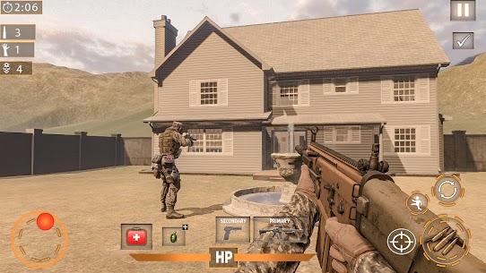 Modern Commando 3D Mod Apk 1.0.3 [Mega mod] 3