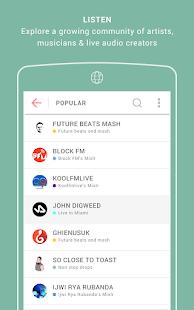 Mixlr - Broadcast Live Audio screenshots 4