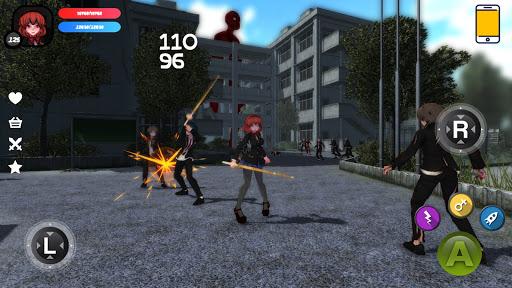 Dead School - Anime Zombie Survival Horror RPG screenshots 1