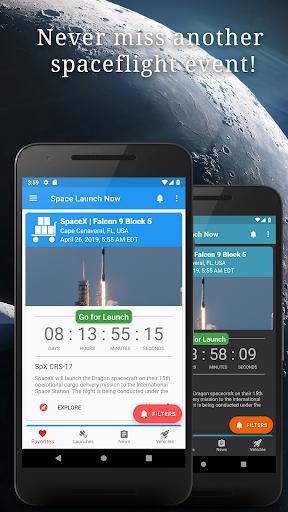 Space Launch Now - Watch SpaceX, NASA, etc...live! apktram screenshots 1