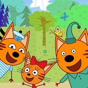 Kid-E-Cats: Picnic with Three Cats・Kitty Cat Games