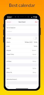 iCalendar MOD APK- Calendar iOS style [Pro Unlocked] 7