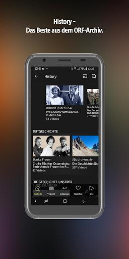 ORF TVthek: Video on demand android2mod screenshots 5