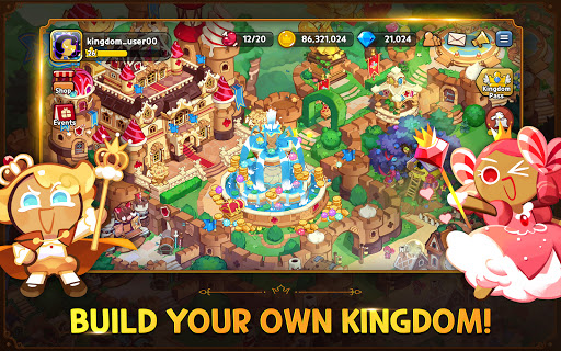 Cookie Run: Kingdom - Kingdom Builder & Battle RPG screenshots apk mod 3
