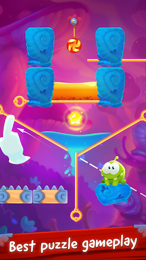 Om Nom Pin Puzzle android2mod screenshots 8
