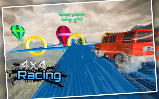 Racing Stunts in Car 3D: Mega Ramp Crazy Car Games  screenshots 5