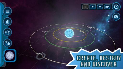 Pocket Galaxy - 3D Gravity Sandbox Space Game Free  Screenshots 2