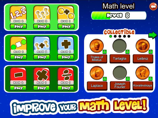 Math Games for kids of all ages 09.01.003 screenshots 2