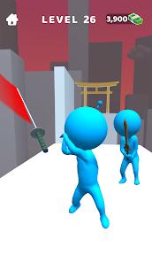 Sword Play! Ninja Slice Runner 3D Mod Apk (Unlimited Unlocked Items) 4