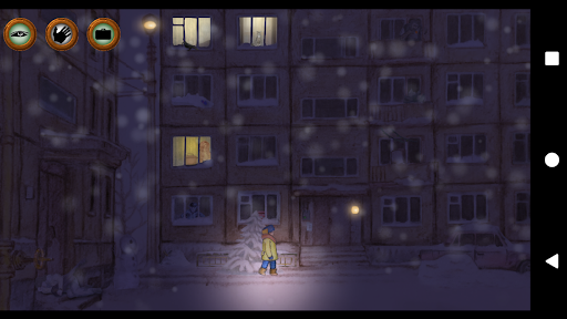 Alexey's Winter: Night Adventure apkpoly screenshots 1