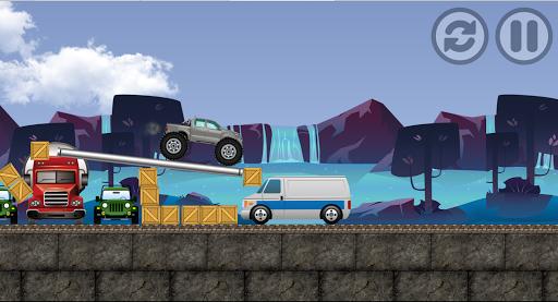 monster truck : adventure race screenshot 2