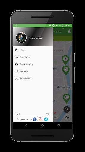 MYBYK | Bicycle Rental & Sharing android2mod screenshots 2