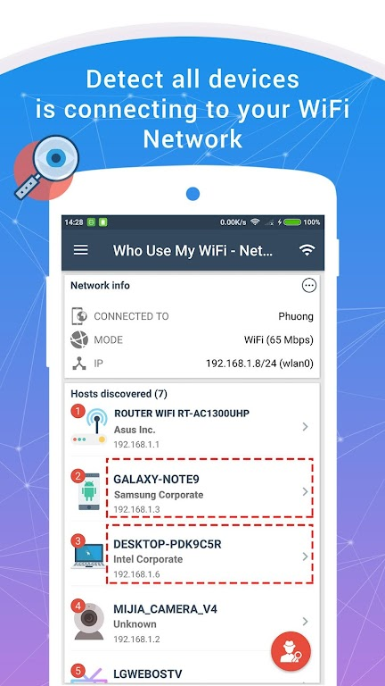 Who Use My WiFi - Network Scanner (Pro)  poster 0