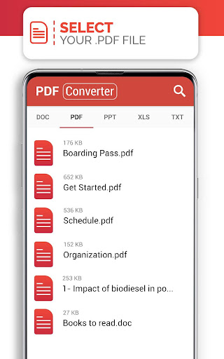 PDF Converter (doc ppt xls txt word png jpg wps) 207 Screenshots 12