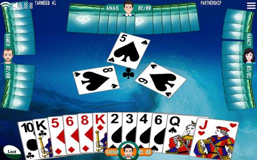 Golden Card Games (Tarneeb - Trix - Solitaire) screenshots 1