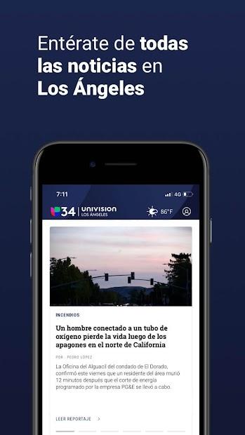 Captura 4 de Univision 34 Los Angeles para android