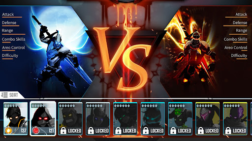Shadow legends Free stickman fight 1.2 screenshots 1