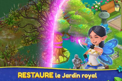 Télécharger Gratuit Royal Garden Tales - Puzzle et Design Match 3 APK MOD (Astuce) screenshots 1