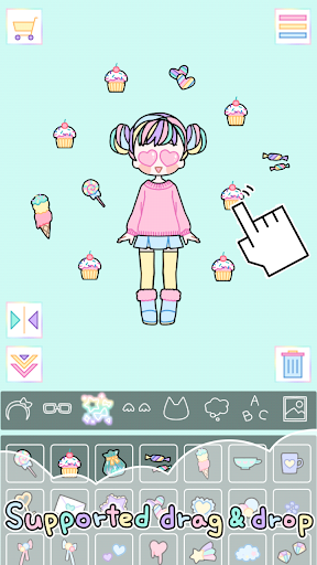 Pastel Girl : Dress Up Game 2.5.3 Screenshots 3