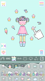 Pastel Girl : Dress Up Game Screenshot