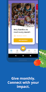 ShareTheMeal: Donate to Charity and Solve Hunger Screenshot