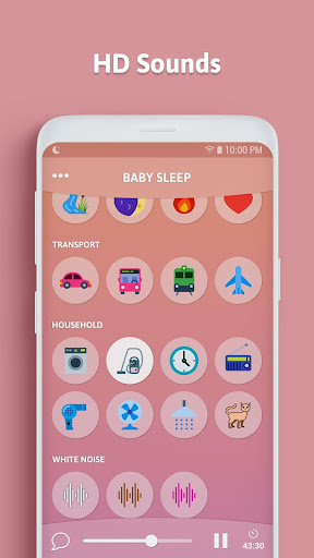 Baby Sleep - White Noise 1.8.0.RC-Android-Free(30) Screenshots 5