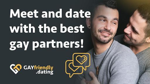 Gay guys chat & dating app - GayFriendly.dating 1.45 APK screenshots 1