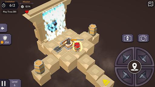 IndiBoy - A treasure hunter Dungeon Quest screenshots 2