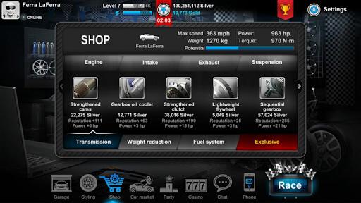Tuner Life Online Drag Racing  screenshots 6