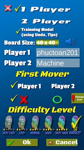 Tic Tac Toe AI - 5 in a row apktram screenshots 5