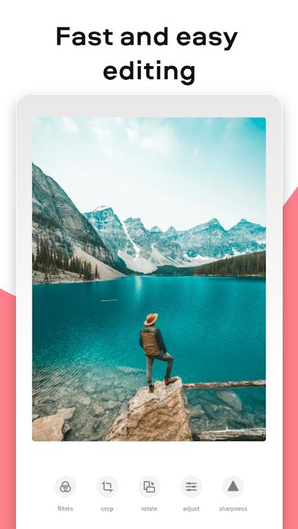 Movavi Picverse photo editor app: filters, presets  poster 0